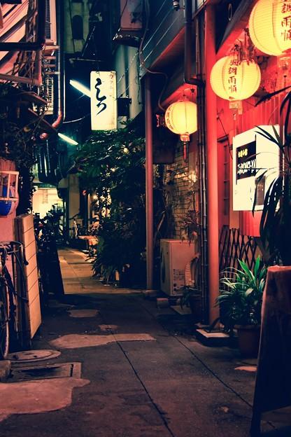昭和時代の路地裏の雰囲気。。旦過市場 20161007