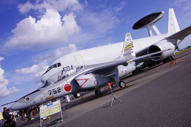 エアフェスタ浜松の最後 AWACSとT-4うなぎスペマ機