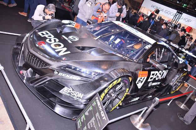東京オートサロン特別公開日。。HONDAワークス superGT参戦車NSX-GT。。1月13日