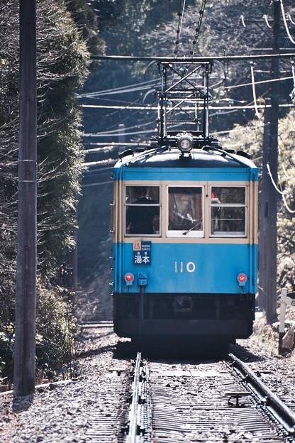 引退する姿を。。箱根登山鉄道モハ2形110号。。20170129