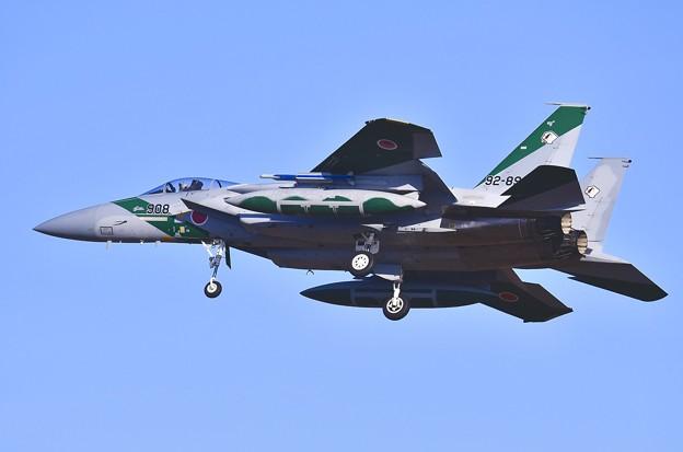 単座のF-15アグレッサー。。百里基地アプローチ 20170224
