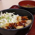 ほたるいかのソースカツ丼(北陸道【上り】・小矢部川SA)