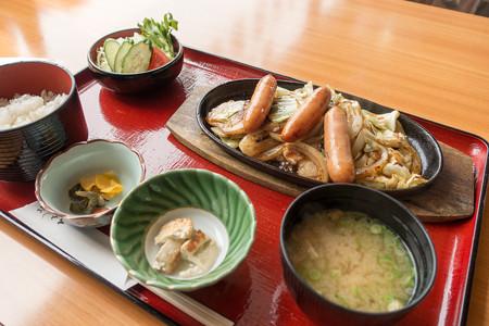 スタミナ定食(道の駅・頓原【島根】)