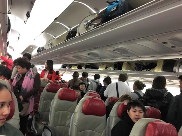 関西空港 エアアジアの混乱 (8)