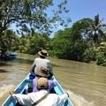 写真: 秘境ツアーの様な水路移動 水位の高低差に愕然 (13)