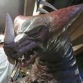 Photos: 怪獣酒場のゴモラさん、どーしても目付き悪くてくそ可愛い
