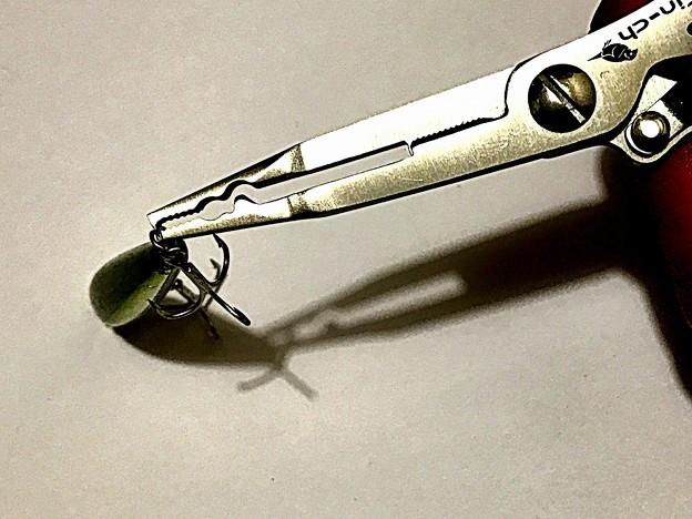 Fin-ch ナイフ付きスプリットリングオープナー