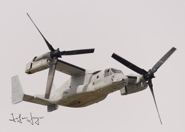 写真: MV-22B飛行機モード