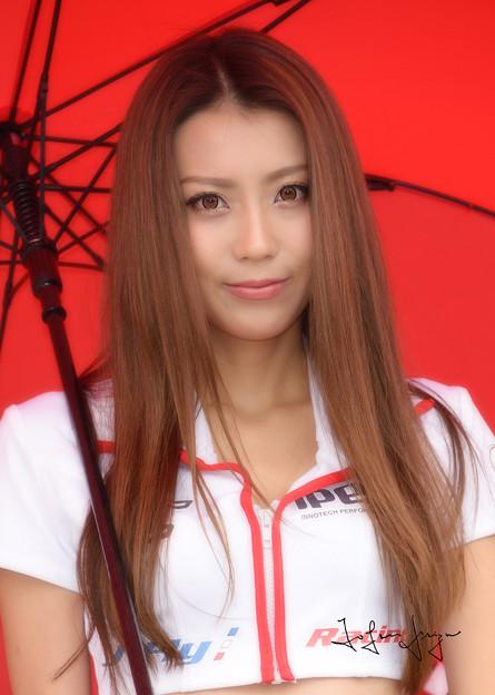 写真: J-Fly Racing SAYA バストアップ