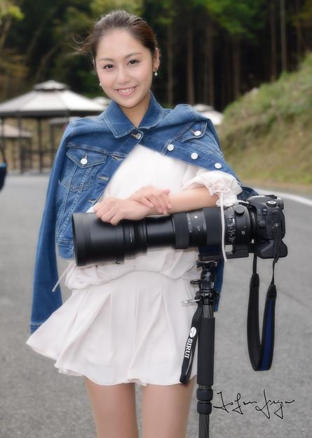 カメラマン真美