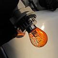 Photos: 色が剥がれたウインカー球