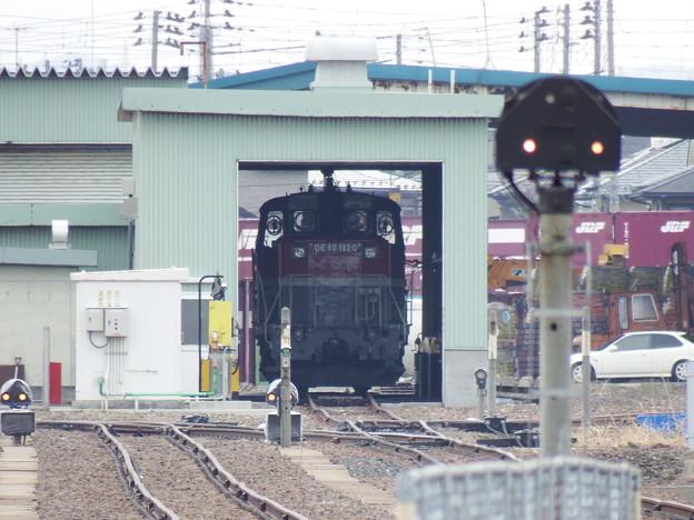 庫内のDE10-1120