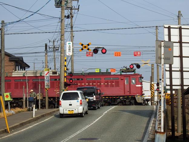 奥羽本線~虎毛山踏切&EF81-141