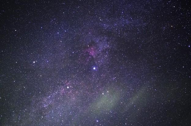 デネブと北アメリカ星雲