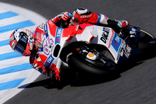 写真: #04 アンドレア・ドヴィツィオーゾ選手 Ducati Team