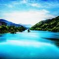 空の蒼、湖の碧 ~初夏~