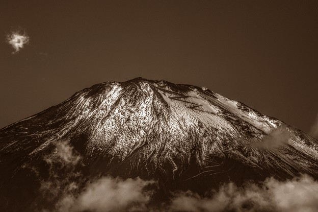 写真: Mt. Fuji of November