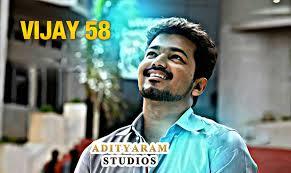 Adityaram studios Vijay 58 Movie