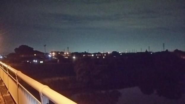 【5月24日の画像その11】橋の上からの幸手市の眺め