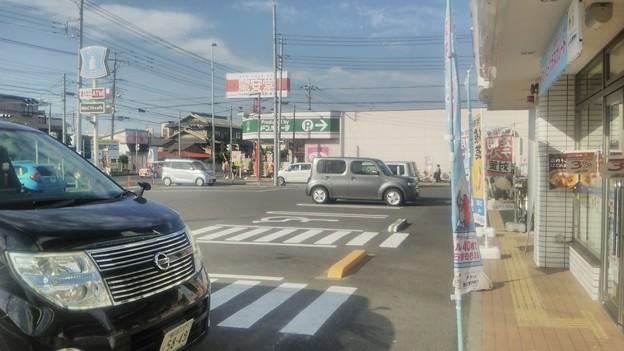 【6月10日は松伏町などへ10】交差点方向