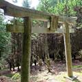 須賀神社の石の鳥居