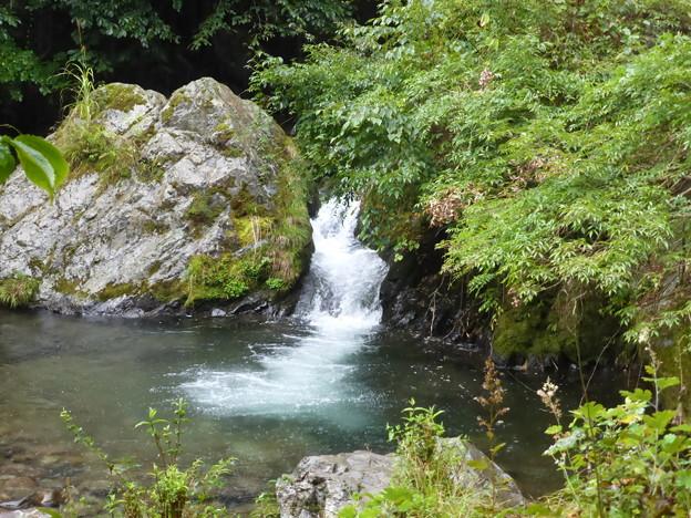 横行林道の滝