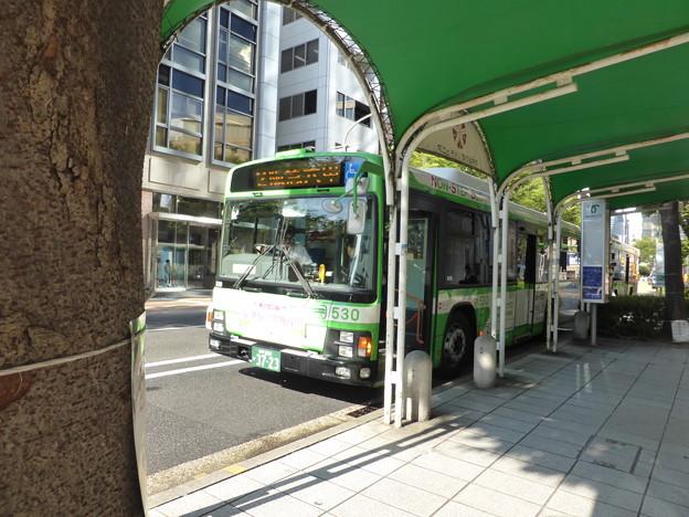 市バスで三宮神社まで戻ってきた