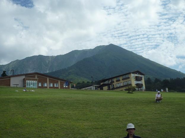 博労座から望む大山