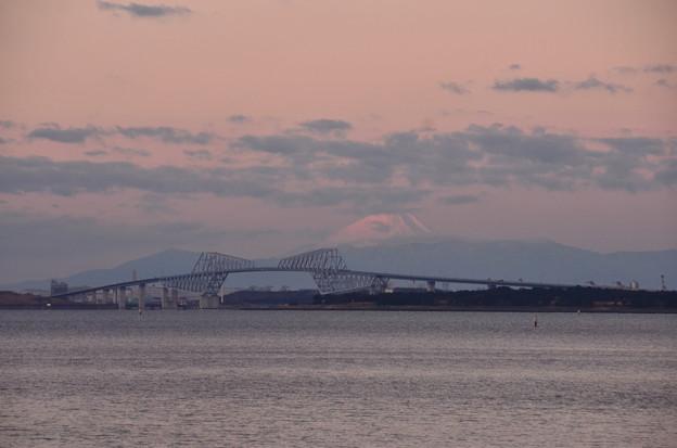 ゲートブリッジと富士山 その3