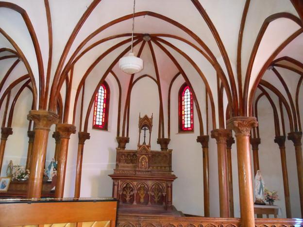 五島列島巡礼の旅*無人島・野崎島にある旧野首教会3