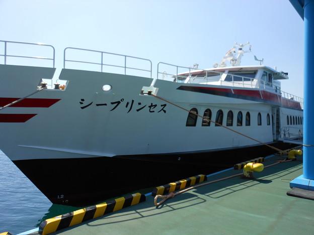 五島列島~長崎港への高速船