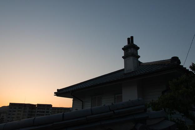長崎の夕暮