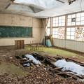 写真: 冬の教室
