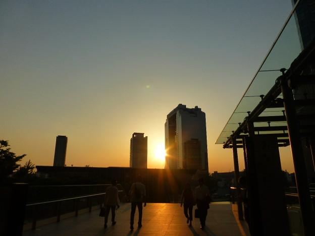 綺麗な夕焼け空@大阪