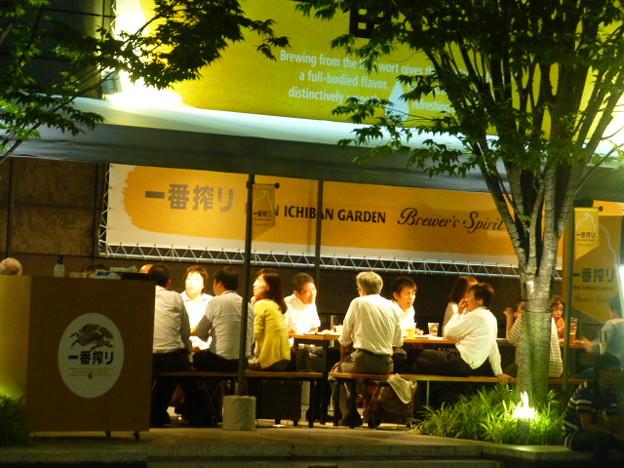 癒しタイム@キリン一番搾りガーデン大阪店