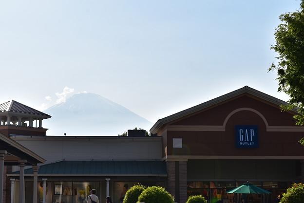 モールからの富士山