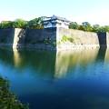 大阪城 内壕