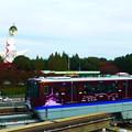 写真: 大阪モノレール 阪急電鉄号