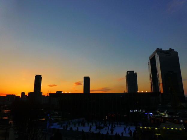 大晦日のうめきた広場