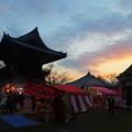 Photos: 中山寺 鐘楼と夕暮れ