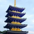 Photos: 再建されたばかりの中山寺 五重塔