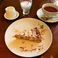 写真: 大好きなモンブランケーキ