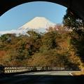 あっ、富士山だ