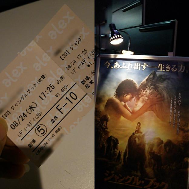 先週10年ぶりに映画館で見たい!思ったので 熱ある中 3Dで見てきた☆ オオカミ、団結、川などいろんなシーンに鳥肌!泣き!感動!歌もあり楽しい! CG臭もなく満足☆今回もDVD購入悩むなぁ;