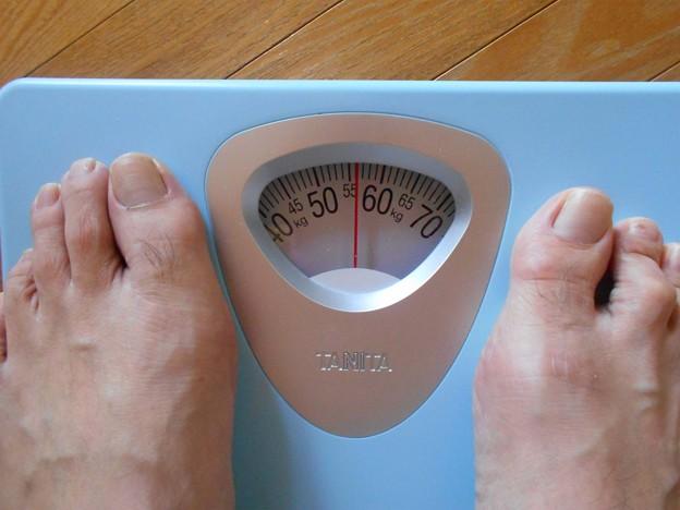 55キロちょい