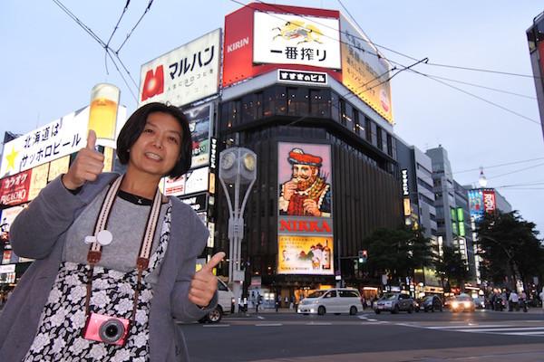 北海道イチの繁華街すすきのへ