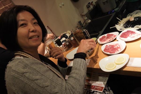 北海道産のサフォーク種の羊肉にこだわった唯一のジンギスカンのお店「いただきます」