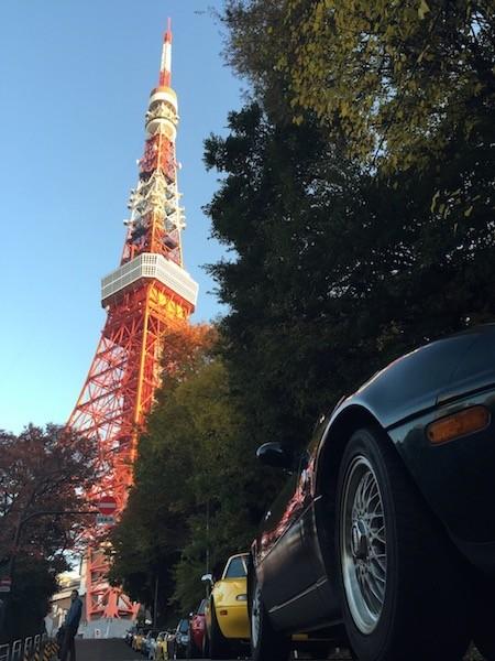 東京のシンボルとロードスター