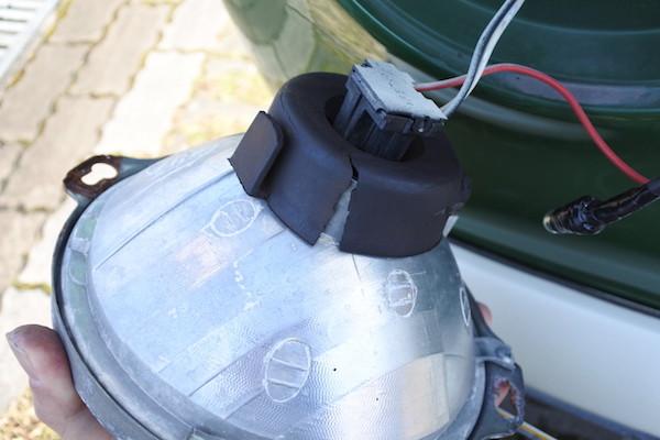 主灯も漏電の危険