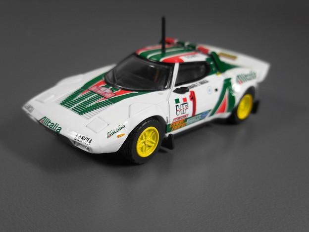 Lancia Stratos HF Rallye Automobile Monte Carlo 1977